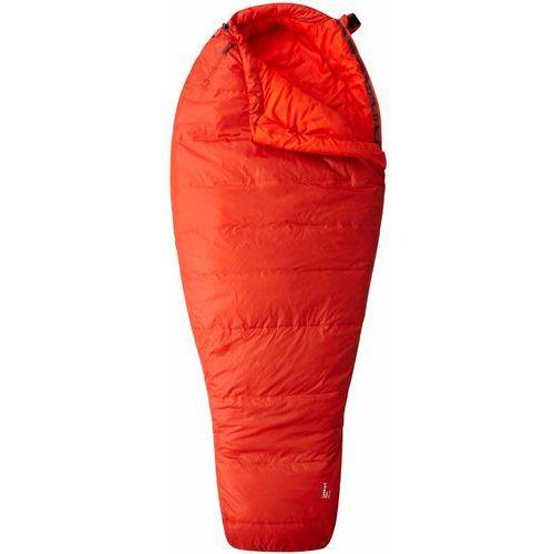 Mountain Hardwear Lamina Z Spark Śpiwór Long pomarańczowy lewe 2018 Śpiwory syntetyczne