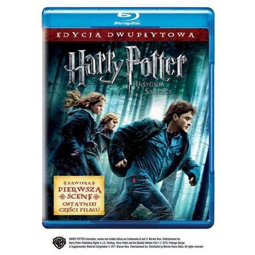 Galapagos Harry potter i insygnia śmierci: część i (2 bd) harry potter and the deathly hallows: part i (7321999304454)