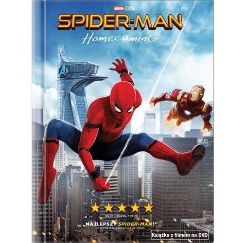 Spider-Man: Homecoming (DVD) + Książka (5903570160158)