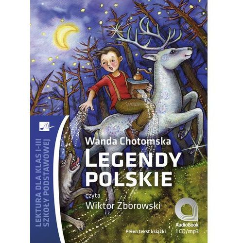 Legendy polskie (CD MP3), oprawa kartonowa