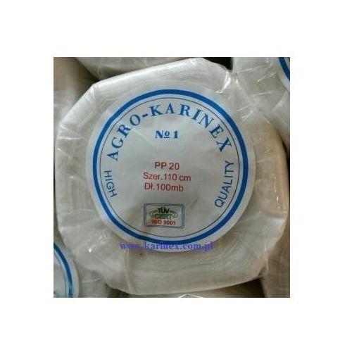 Agrokarinex Agrowłóknina wiosenna pp 20 g/m2 biała 1,1 x 100 mb.