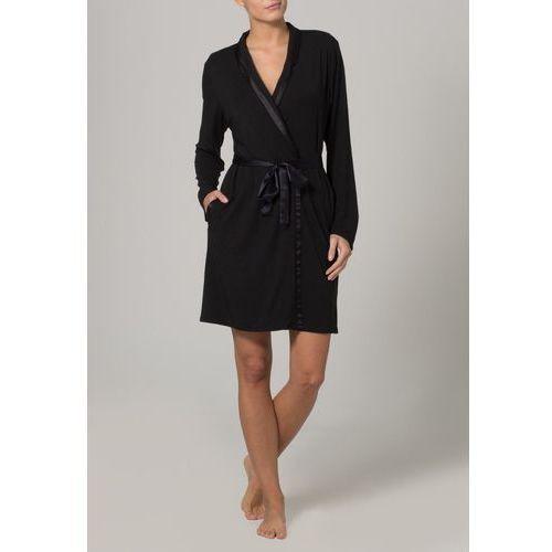 MODAL WITH SATIN Szlafrok black, marki Calvin Klein Underwear do zakupu w Zalando.pl