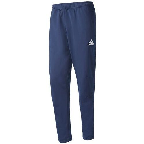 Spodnie męskie tiro 17 polyester pants granatowe bq2619, Adidas