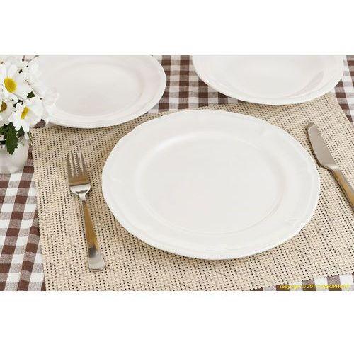 18 EL SERWIS OBIADOWY OKRĄGŁY PORCELANOWY CAMILLE (serwis obiadowy) od herbata-porcelana.bazarek.pl
