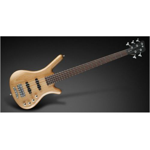 corvette basic 5-str. natural transparent satin, fretted gitara basowa marki Rockbass
