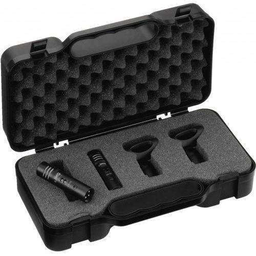 Monacor ECM-250 zestaw mikrofonów pojemnościowych