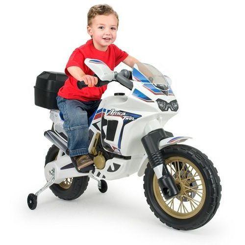 motor na akumulator honda africa biały 6v + koszykówka gratis marki Injusa