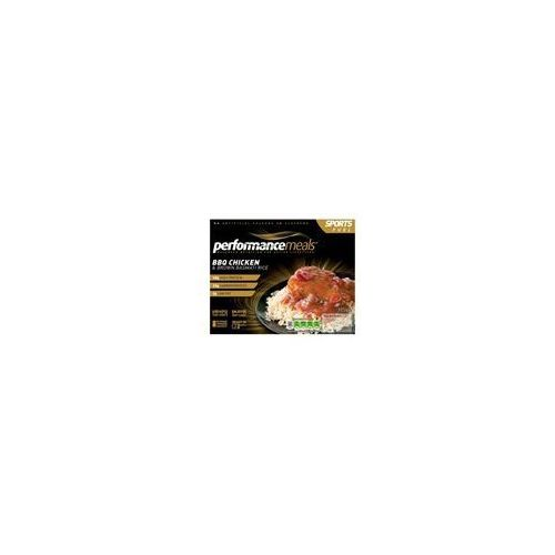 Performance meals bbq chicken & brown basmati rice 355g