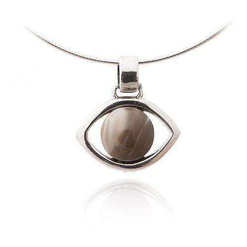 Wisiorek srebrny z krzemieniem pasiastym ze sklepu AnKa Biżuteria