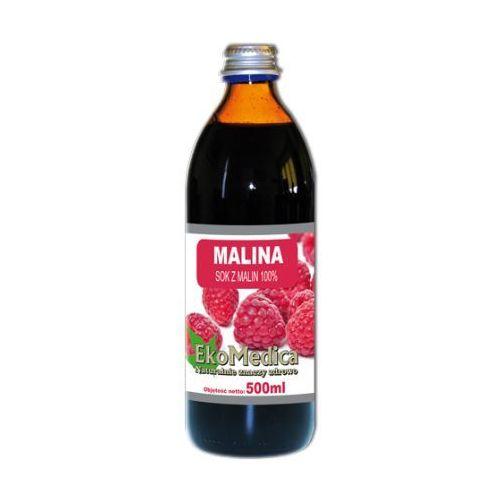 Eka medica malina sok z malin 100% 500ml marki Eko medica