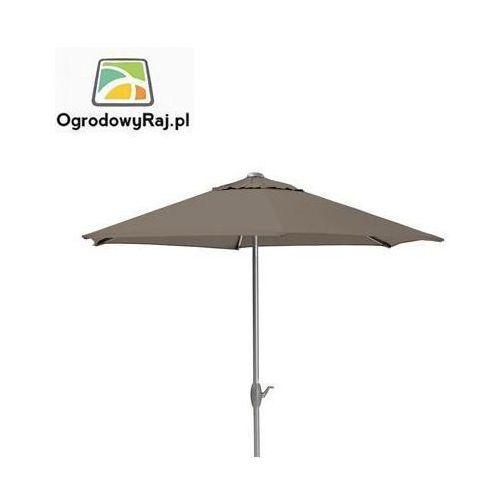 Parasol z korbką Ø 300 0106042-0400 (parasol ogrodowy) od OgrodowyRaj.pl
