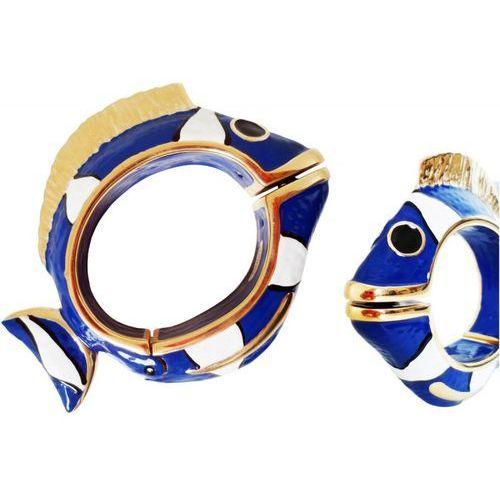 Mosiężna bransoletka br k13bl - blue nemo bracelet marki Pasotti
