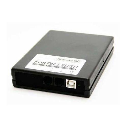 Kraj Fontel l2usb rejestrator rozmów telefonicznych dla 2 linii analogowych