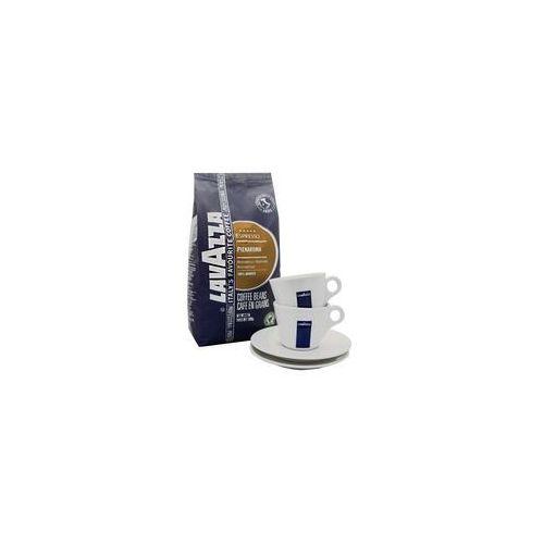 pienaroma 5 x 1 kg + 2 filiż. cappuccino marki Lavazza