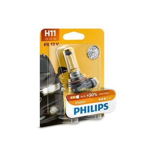 Żarówka samochodowa Philips VISION 12362PRB1 H11 PGJ19-2/55W/12V, PH-12362PRB1