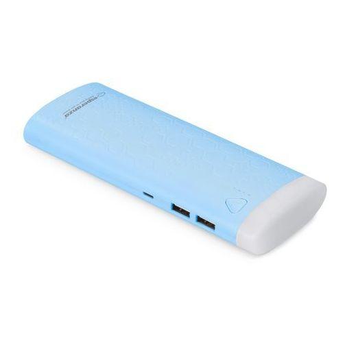 """Powerbank 10000mah """"fermion"""" niebieski marki Esperanza"""
