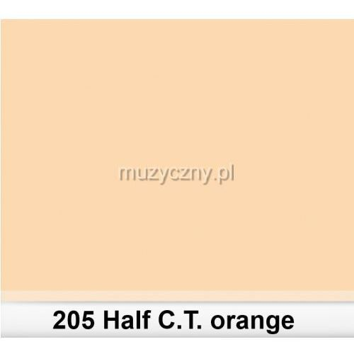 205 half c.t.orange filtr barwny folia - arkusz 50 x 60 cm marki Lee