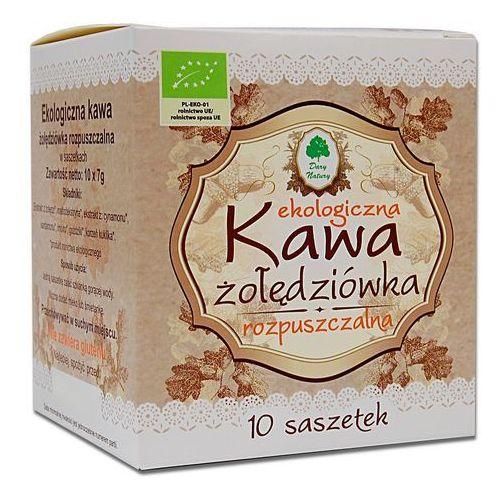 Dary natury - inne bio Kawa żołędziówka rozpuszczalna w saszetkach bio 70 g (10 x 7 g) - dary natury