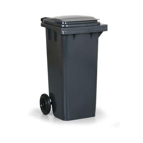 Plastikowy pojemnik na odpady cld 120 litrów, antracyt marki B2b partner