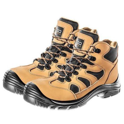 884be413 Buty NEO S3 SRC (rozmiar 46) 141,72 zł Nubukowe trzewiki robocze to towar  należący do kategorii obuwia bezpiecznego S3 SRC wg normy EN ISO 20345.