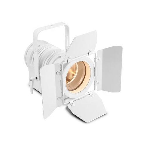 ts 40 ww wh - spotlight 40w ciepła biała dioda led, reflektor teatralny, biała obudowa marki Cameo