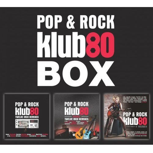 Różni Wykonawcy - Pop & Rock Klub.80 BOX