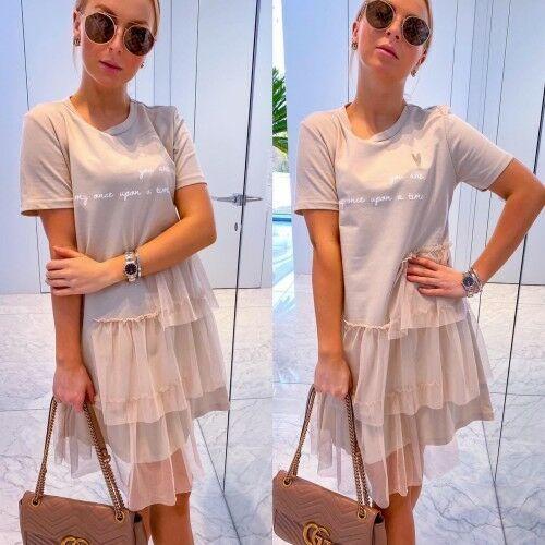 Sukienka you are beż marki Miho's