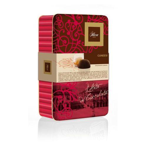 Oliva Puszka rosa dei venti z czekoladkami z nadzieniem 300g włoskie czekoladki z nadzieniem różne smaki