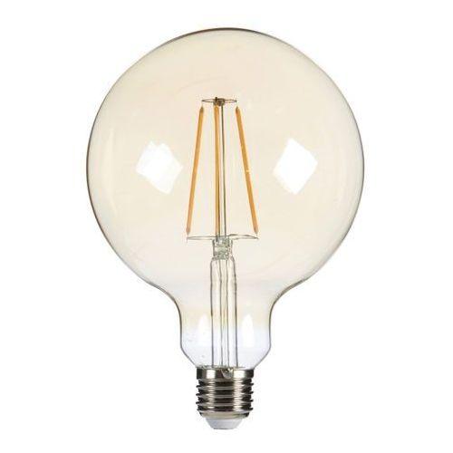 Żarówka LED Diall Filament Gold G125 E27 5 5 W 470 lm przezroczysta barwa ciepła (3663602838753)