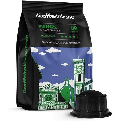 Firenze il caffè italiano kapsułki do tchibo cafissimo – 10 kapsułek marki Nespresso kapsułki