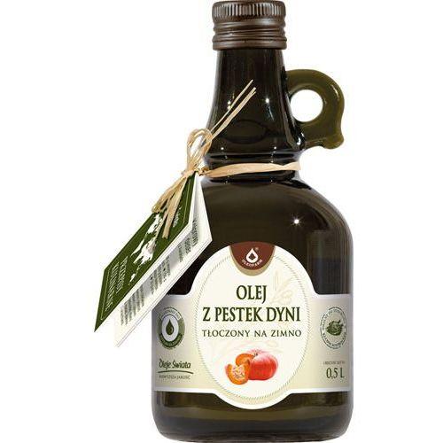 Olej z pestek dyni - tłoczony na zimno 250ml marki Oleofarm