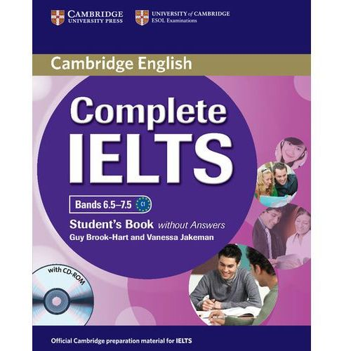 Complete IELTS Bands 6.5-7.5. Podręcznik bez Klucza + CD (166 str.)