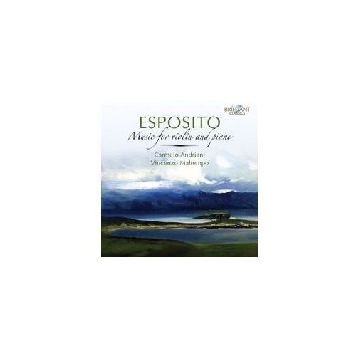 Brilliant classics Esposito: music for piano & violin