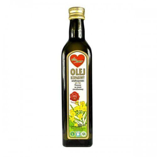 Olej rzepakowy 500ml - Vitacorn - produkt z kategorii- Oleje, oliwy i octy
