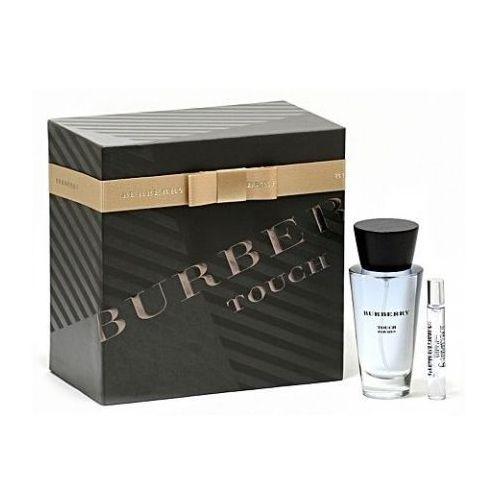 Burberry Touch for Men, Zestaw podarunkowy, woda toaletowa 100ml + woda toaletowa7,5ml