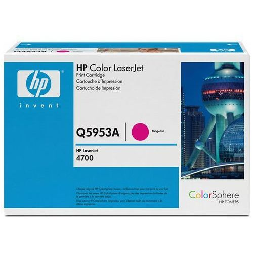 Wyprzedaż Oryginał Toner HP Q5953A 643A do HP Color LaserJet 4700   10 000 str.   magenta, pudełko otwarte