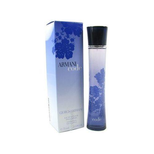 Giorgio Armani Code [75ml] (zapach kobiecy)