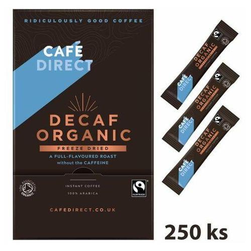 kawa rozpuszczalna bio bezkofeinowa, 250 x 1,5 g marki Cafédirect
