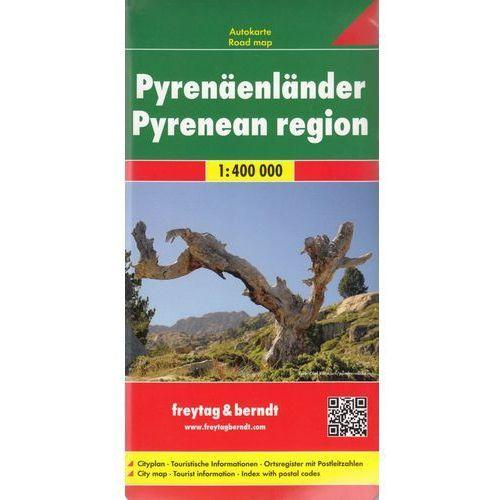 Pireneje mapa 1:400 000 Freytag & Berndt (9783707907490)