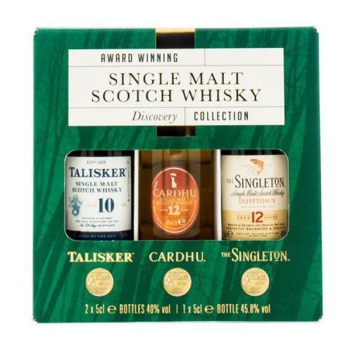 Whisky Discovery Collection 3x0.05l miniaturki, 7E99-945B6