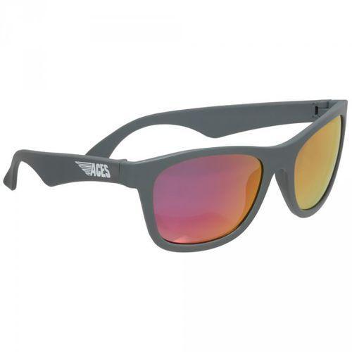 Babiators Aces Navigator Okulary przeciwsłoneczne dla dzieci (07-14) Szare/Różowe szkła