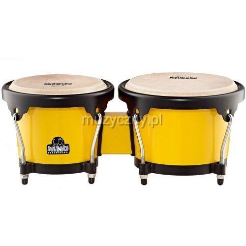 17y-bk bongosy 6 1/2″ + 7 1/2″ (żółte) marki Nino