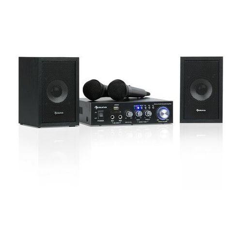 Auna Karaoke Star 2 zestaw do karaoke 2 x 50W BT USB/SD Line-In 2 x mirkofon (4060656101175)