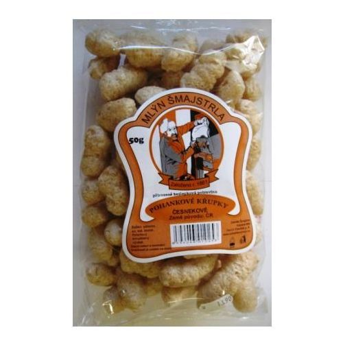 Chrupki gryczane- czosnkowe 50g, 1330