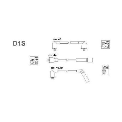 Zestaw przewodów zapłonowych JANMOR D1S (5902925001610)