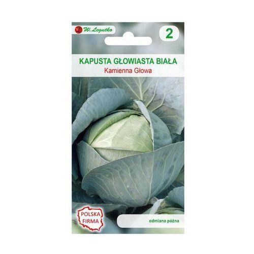 Kapusta głowiasta biała kamienna głowa nasiona tradycyjne 2 g marki W. legutko