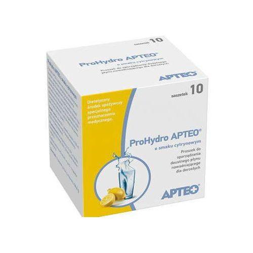 Apteo prohydro o smaku cytrynowym x 10 saszetek marki Synoptis pharma