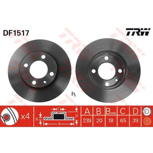 TARCZA HAM TRW DF1517 SEAT IBIZA III 1.0, 1.4, 1.6, 1.9SDI, 1.9TDI 99-02/ VW GOLF III 1.9SDI 95-97 (3322936151708)