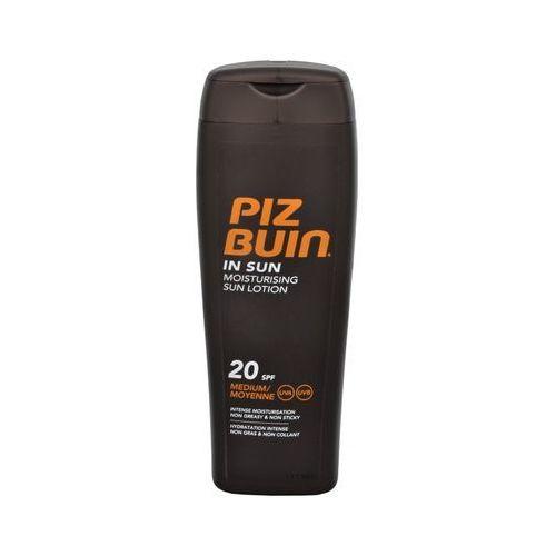 Piz buin in sun moisturising lotion spf20 200ml w opalanie