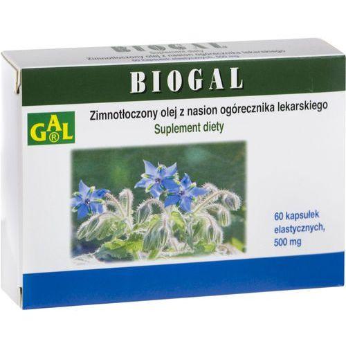 Biogal kaps. 500mg x 60 /ogorecznik (5907501110267)